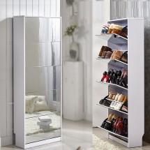 5-ярусный зеркальный шкаф для обуви