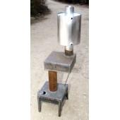 Печка на отработке с теплообменником