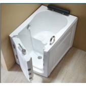 Ванна с торцевой дверью для инвалидов, пожилых и мгн