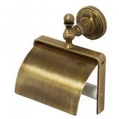 Держатель для туалетной бумаги с крышкой бронза Versace
