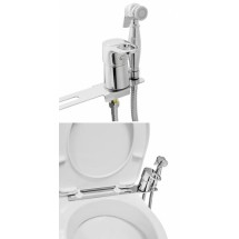 Биде-приставка для унитаза с гигиеническим душем MATRIX