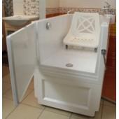 Ванна с дверью 1320 x 680 мм