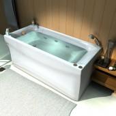 Ванна акриловая АКВАТЕК Альфа 150х70 (без гидромассажа)