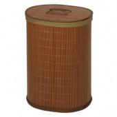 Овальная корзина для белья с крышкой - Bamboo -- Moeve (Германия)