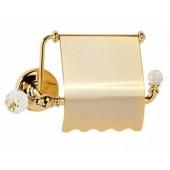 Держатель для туалетной бумаги с крышкой золото Versace (Германия)