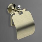 Держатель для туалетной бумаги с крышкой бронза Versace (Германия)