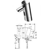 Электронный смеситель для раковины Schell Puris, для холодной (или предварительно смешанной) воды