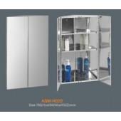 Зеркальный угловой шкаф ASM-H02D - Rotpunkt (Германия)