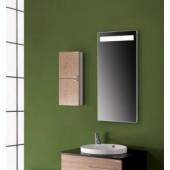 Зеркало прямоугольное с верхней подсветкой