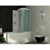 Ванна 1700x800 ванна из гелькоута с каркасом, экраном и кабиной