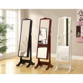 Напольный шкаф зеркало для украшений