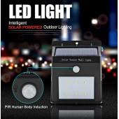 Водонепроницаемый настенный светодиодный светильник на солнечной энергии