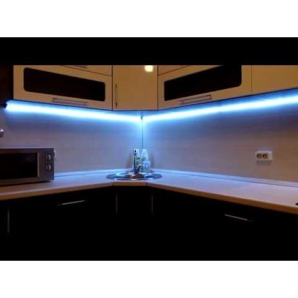 Светодиодная подсветка на кухне своими руками