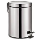 Ведро для мусора (12 литров) нержавейка