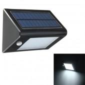 Водонепроницаемый настенный светодиодный светильник на солнечной энергии 20 Светодиодных лампочек