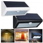 Водонепроницаемый настенный светодиодный светильник на солнечной энергии 38 Светодиодов